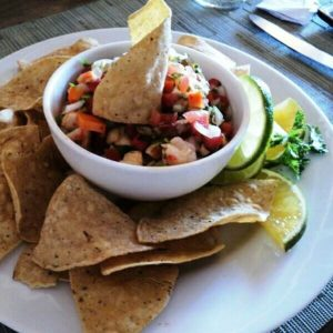 shrimp and conch ceviche belizean style