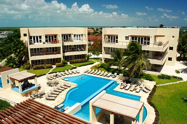 The Phoenix Resort in Ambergris Caye, Belize
