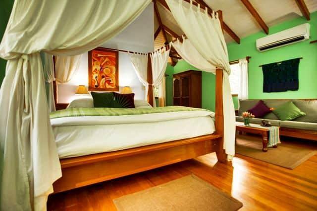 Belize treehouse accommodation at Hamanasi Resort