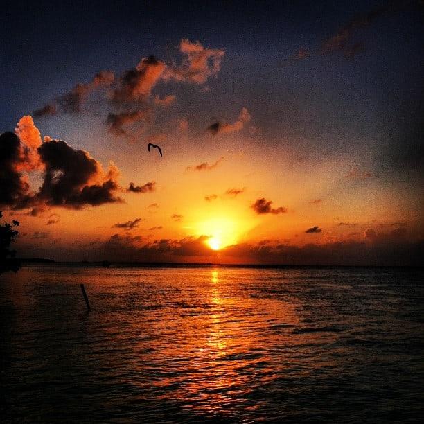 Beautiful Belizean Sunset