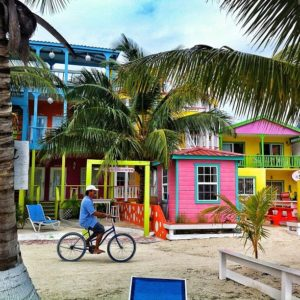 Caye Caulker Caribean colors