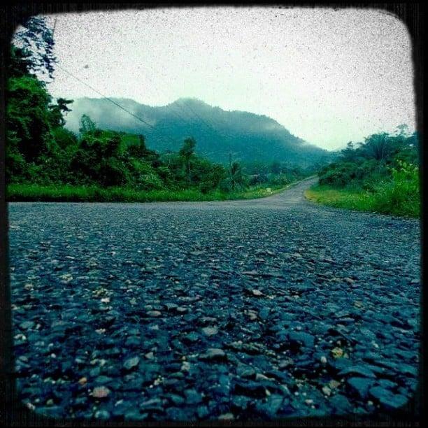 Hummingbird Highway in Southern Belize