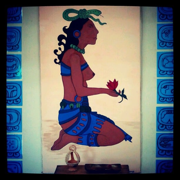 Ixchel, Maya goddess of medicine and fertility