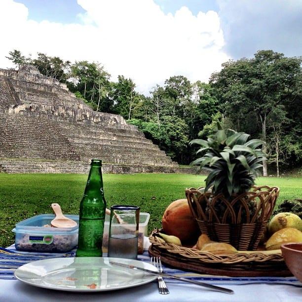 Caana, Caracol Maya temple in Belize