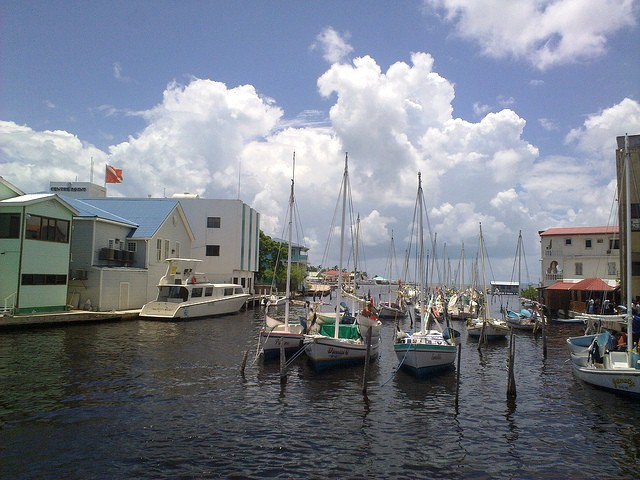 Downtown Belize City