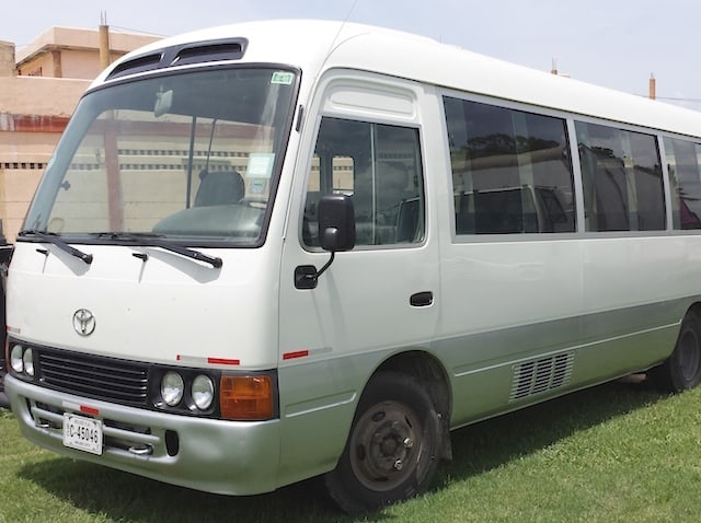 transportation for belize groups
