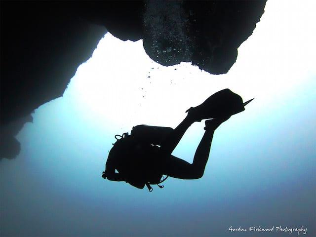 Scuba Diving the Belize Blue Hole