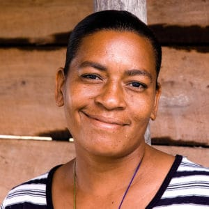 creole woman in Belize