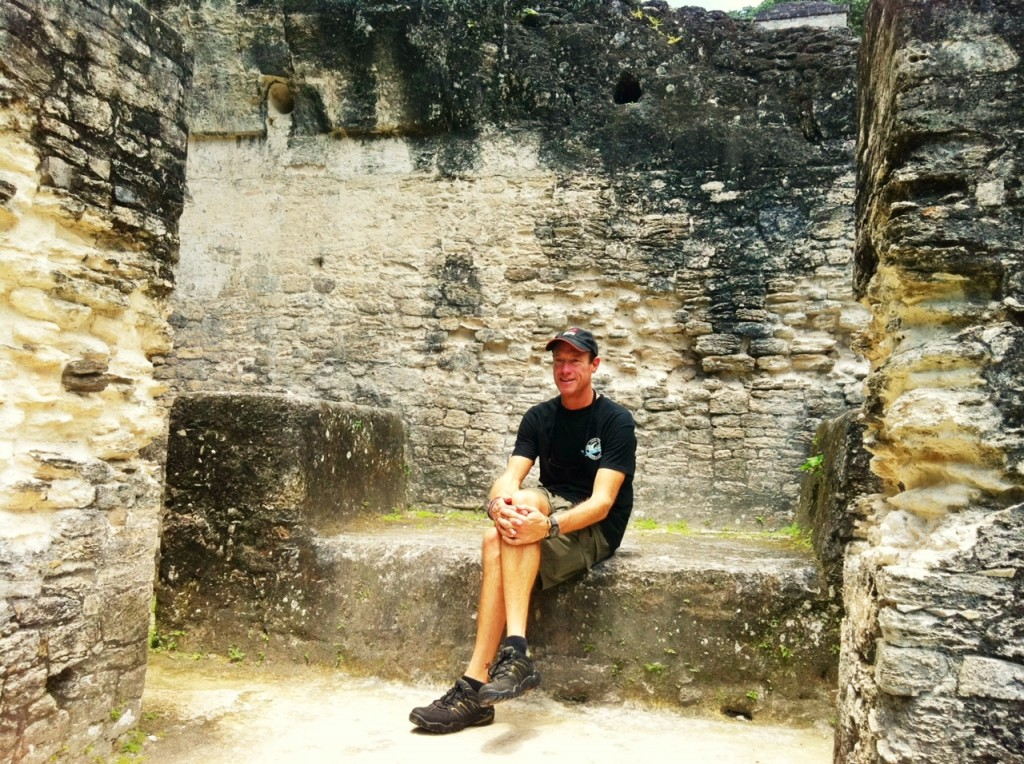 David Meerman Scott at Tikal Guatemala