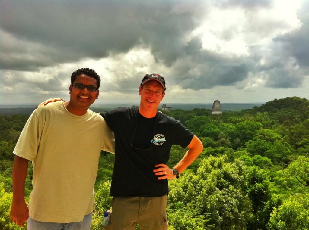 Climbing Tikal Guatemala