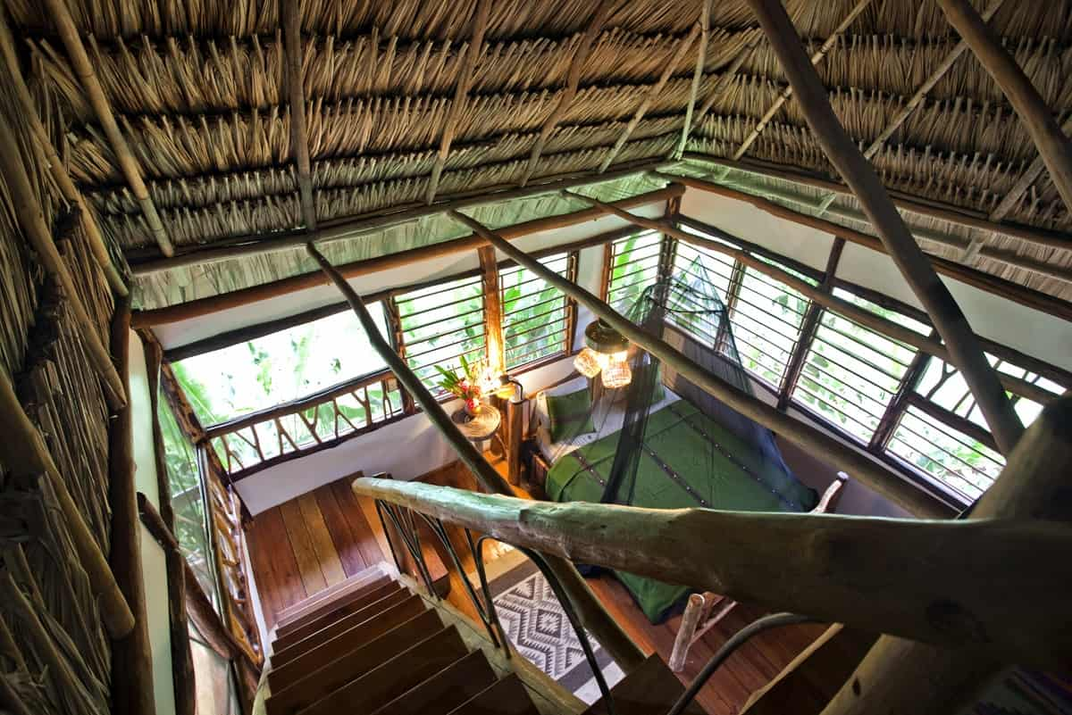Cotton Tree Lodge is a rustic hotel in Southern Belize