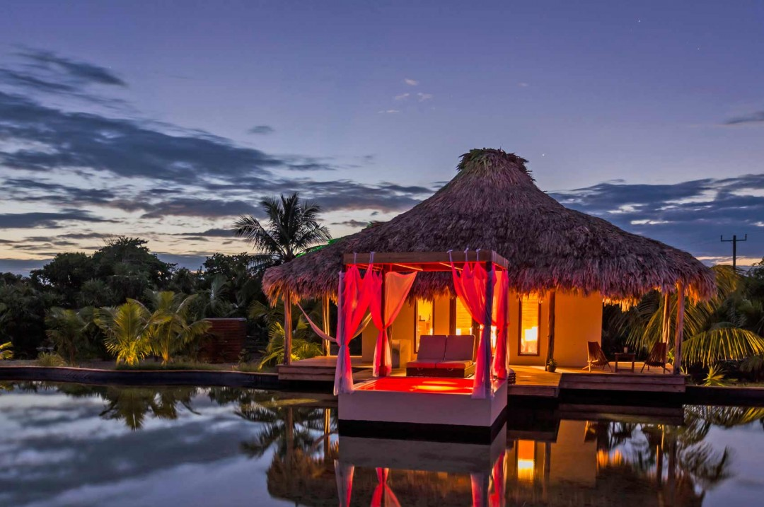 El Secreto is the newest luxury resort in Northern Ambergris Caye