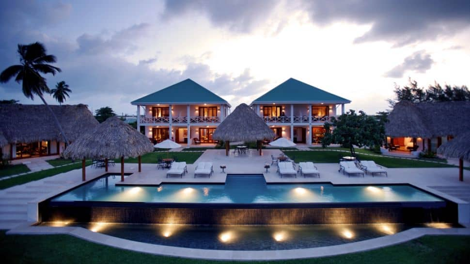 Top luxury hotels in belize and popular destinations 2017 for Best houses in the world for sale
