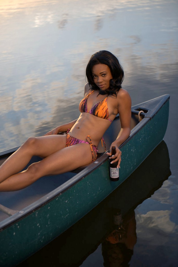 Belikin Beer Calendar Belizean model 2014