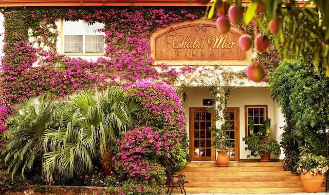 Chabil Mar Villas entrance