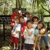 kids at the belize zoo