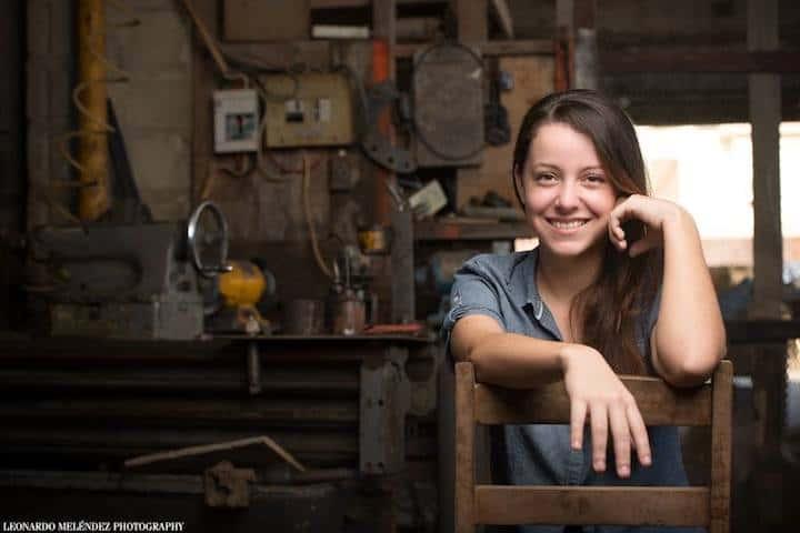 Belizean artisit Inga Woods