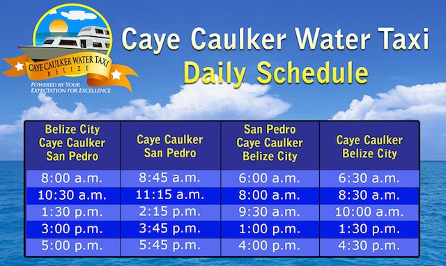Caye Caulker By Water Taxi Cruise Critic Message Board