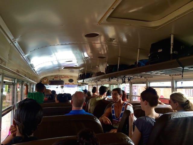 local Belize bus
