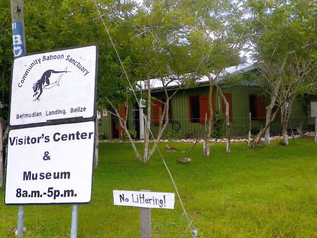 Community Baboon Sanctuary Visitor Centre and Museum in Belize