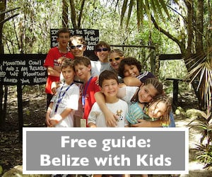 Belize with kids